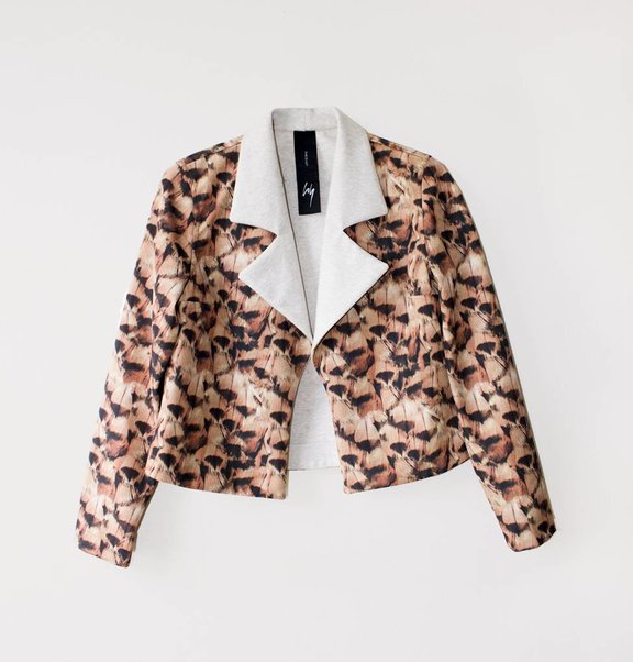 This is Lily Feather jacket