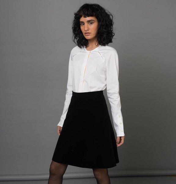 blouse knoppen wit