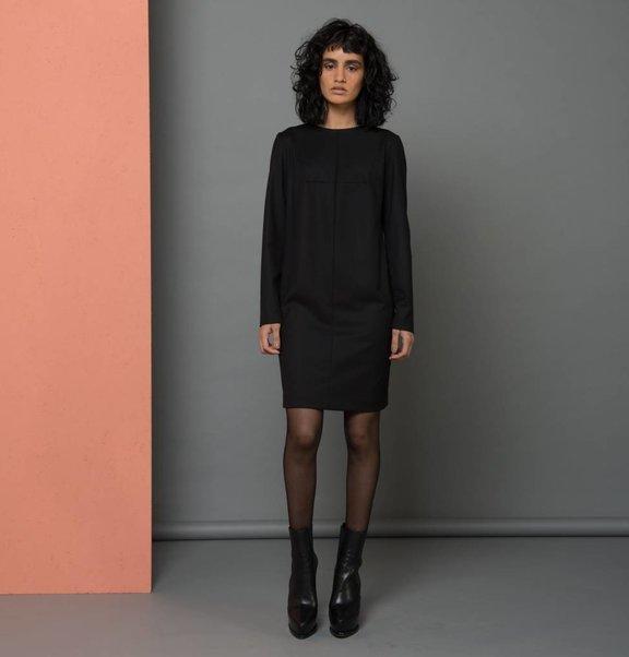 medi jurk zwart