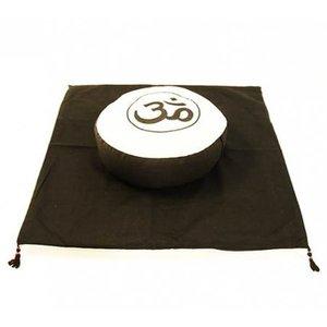 Meditatie SET OHM Crème/Zwart