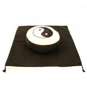 Meditatie SET Yin Yang Crème/Zwart