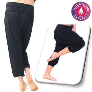 Yogamasti Yoga Broek Comfort Flow Zwart
