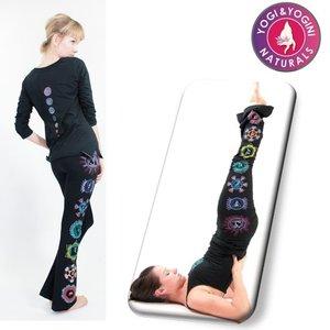 Yogamasti Yoga Broek Chakra, zwart