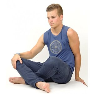 Yoga T-shirt Yantra Man