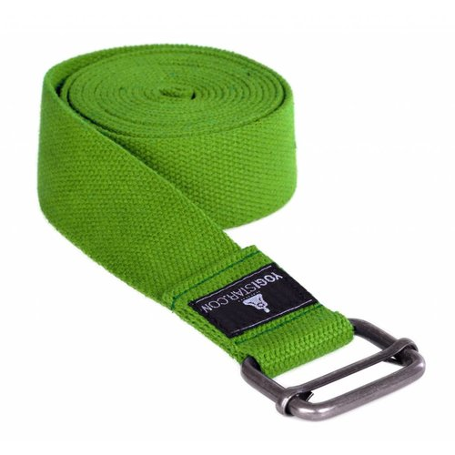YOGISTAR Yoga Riem D-Ring Kiwi Metaal