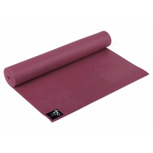 YOGISTAR Yoga Mat Basic Bordeaux