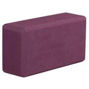 YOGISTAR Yoga Blok Basic ECO Bordeaux