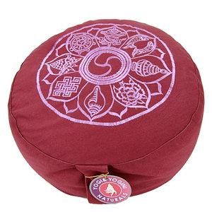 Yogi & Yogini Meditatiekussen De Acht Gelukssymbolen