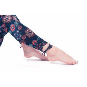 Yogamasti Yoga legging biologisch zwart met Mandala print