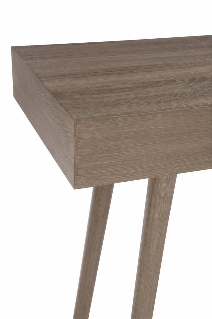 Duverger Tight -Sidetable - naturel - hout - 1 lade - 150x40x80cm