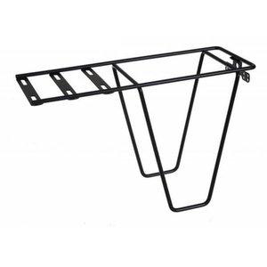 Steco Bagagedrager verlenger voor montage tas icm stoeltje Zwart