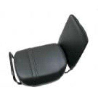 Hooodie Fietskussen comfort + met rugsteun zwart