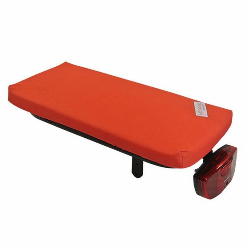 Hooodie Fietskussen Bright Red Solid