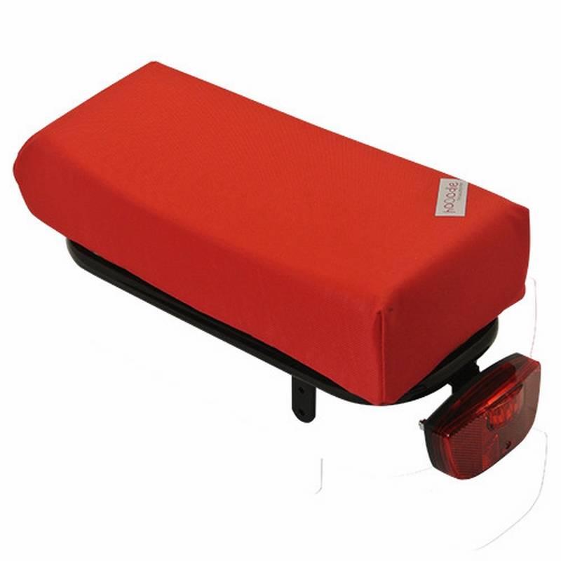 Hooodie Fietskussen BIG Red