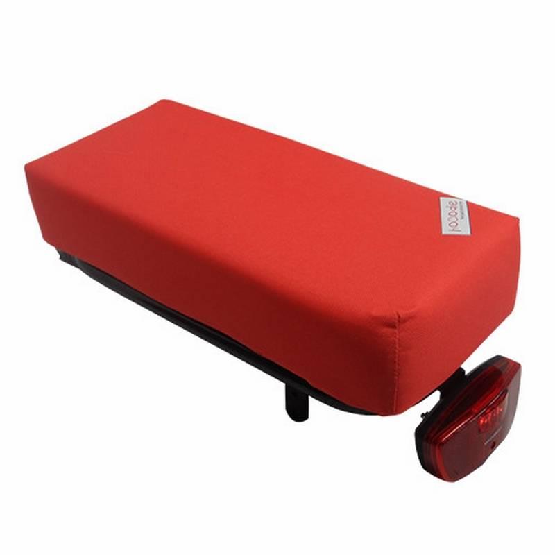 Hooodie Fietskussen BIG Red Solid