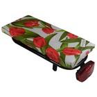 Hooodie Fietskussen Tulips Red
