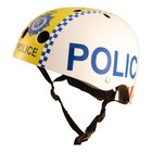 Kiddimoto Kinderhelm Police Small