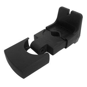 GMG Yepp Mini Voorzitje Zwart Fietsstoeltje