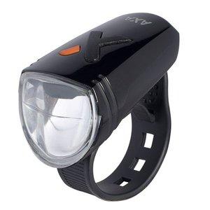Axa koplamp Greenline 8 Lux Usb