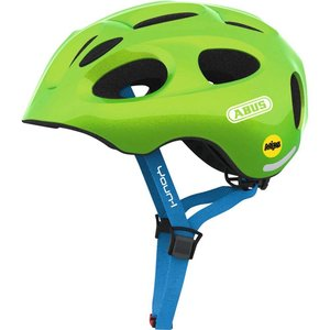 Abus Kinderhelm / Fietshelm Youn-I MIPS sparkling green Small 48-54