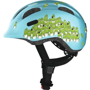Abus Kinderhelm / Fietshelm Smiley 2.0 blue croco Small 45-50