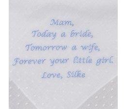 Moeder van de bruid cadeau