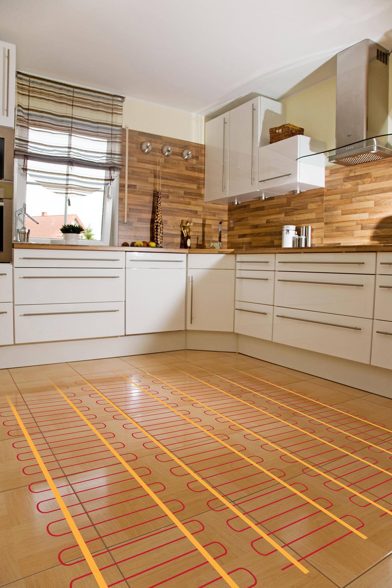 voordelen elektrische vloerverwarming