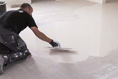 installatie elektrische vloerverwarming dichtsmeren