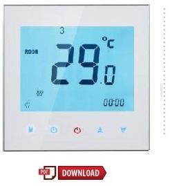 De intelligente digitale thermostaat handleiding