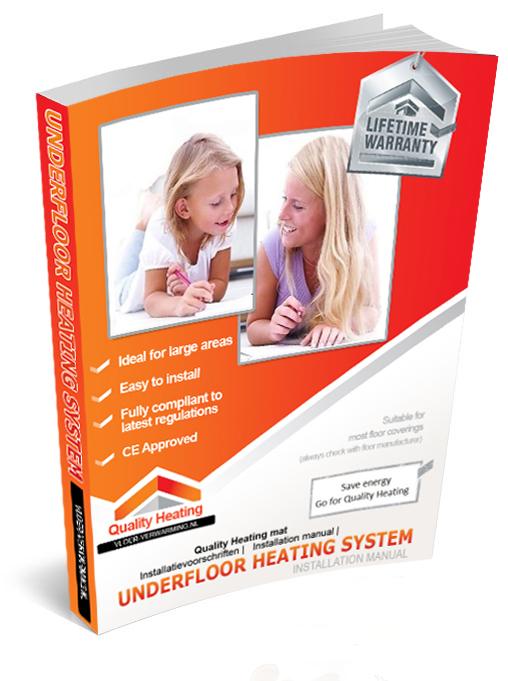 aanleggen elektrische vloerverwarming badkamer