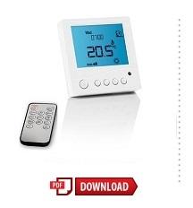 remote control elektrische vloerverwarming thermostaat