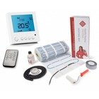 200 Watt mat set inclusief Programmeerbare Remote Control thermostaat