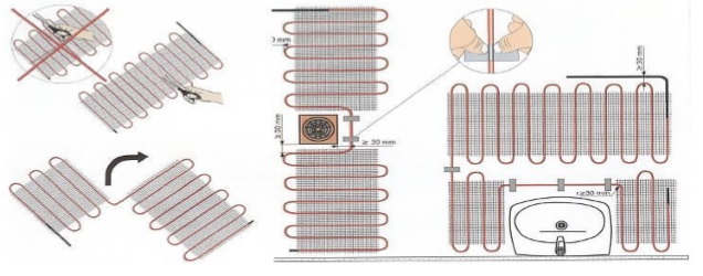Elektrische vloerverwarming badkamer - Elektrische vloerverwarming