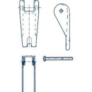Cartec veiligheidsklepset (gietdeel) grade 100