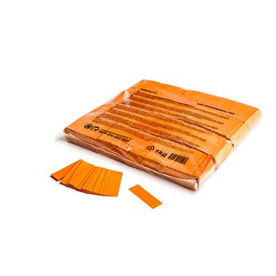 MagicFX Slowfall confetti 55x17mm oranje
