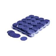 MagicFX Slowfall confetti rondjes 55mm donkerblauw