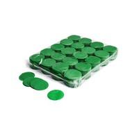 MagicFX Slowfall confetti rondjes 55mm donkergroen