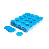 MagicFX Slowfall confetti rondjes 55mm lichtblauw