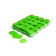 MagicFX Slowfall confetti rondjes 55mm lichtgroen