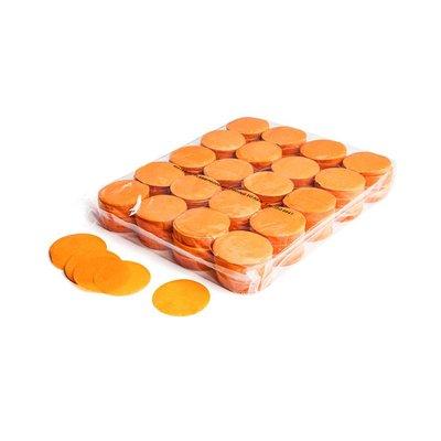 MagicFX Slowfall confetti rondjes 55mm oranje