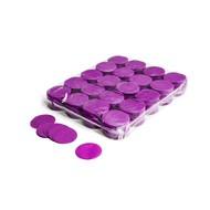 MagicFX Slowfall confetti rondjes 55mm paars