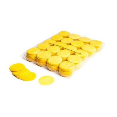 MagicFX Slowfall confetti rondjes 55mm geel