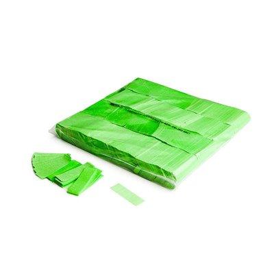 MagicFX Slowfall UV confetti 55x17mm Fluo groen