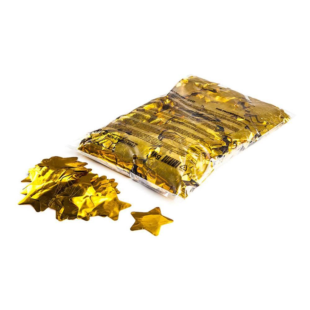 Image of MagicFX Metallic confetti sterretjes 55mm goud