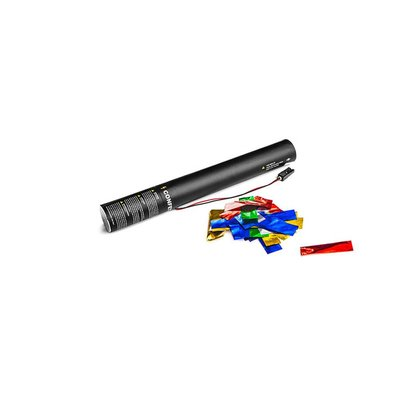 MagicFX Electric Confetti Cannon 50cm multicolour metallic