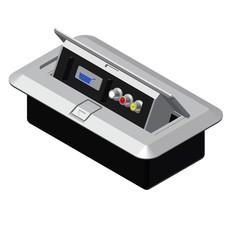 Procab CB3VGA/G Inbouw stagebox 3x RCA en 1x SVGA