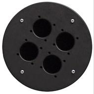 Procab CRP340 plaat voor CDM300 met 4x Schuko gaten