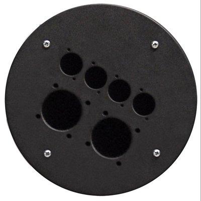 Procab CRP342 plaat voor CDM300 met 2x Schuko en 4x D-size gaten