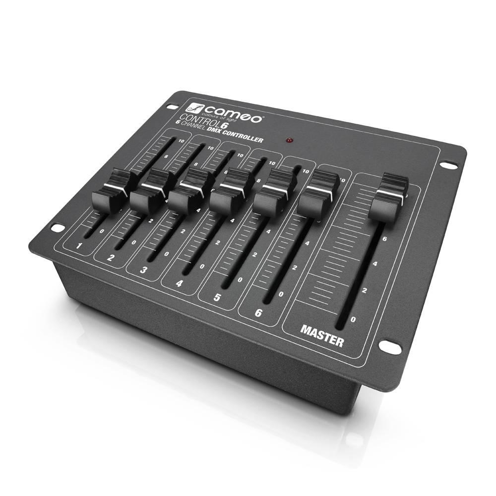 Image of Cameo CLCONTROL6 DMX controller 6-kanaals