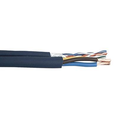 DAP Flexibele CAT-5E + stroomkabel 3x1,5mm2 100m